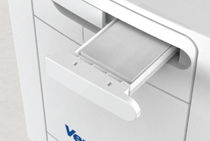 Changing filters and servicing of an MVHR UNIT